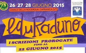 Locandina Eduraduno 2015 - bannerino